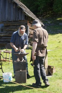 Every farm in Iceland had a blacksmith. Every village in Canada.